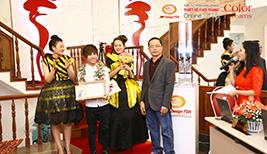 Hình ảnh chung kết Cuộc Thi Thiết Kế Thời Trang 2015 - Phần trao giải thưởng