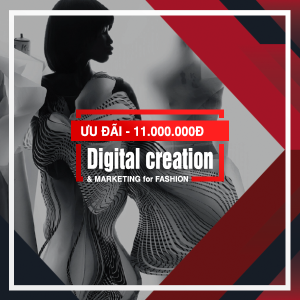 Digital creation and marketing for fashion